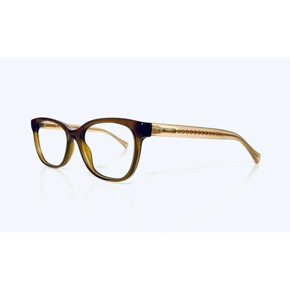 Coach Brown Frame Glasses